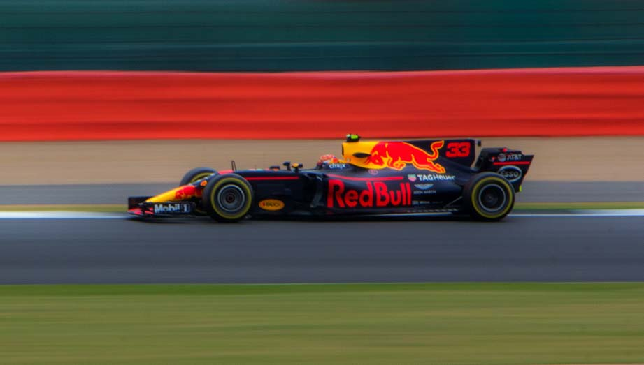 Mobiliteitsbeleid (sfeerfoto van Formule 1 auto)